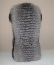 меховая жилетка из черноборуки